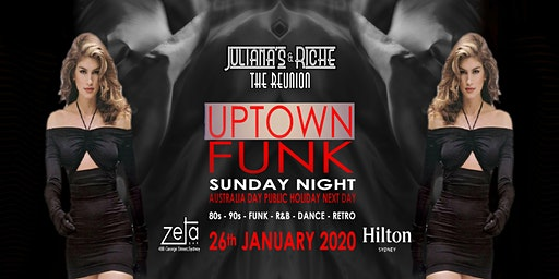 """UPTOWN FUNK"" The 80's & 90's Julianas & Riche Reunion 26-1-20 at Zeta Bar"