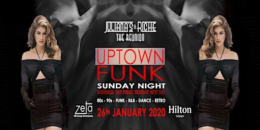 """UPTOWN FUNK"" The 80's & 90's Julianas & Riche Reunion 26-1-20 at Zeta Bar"