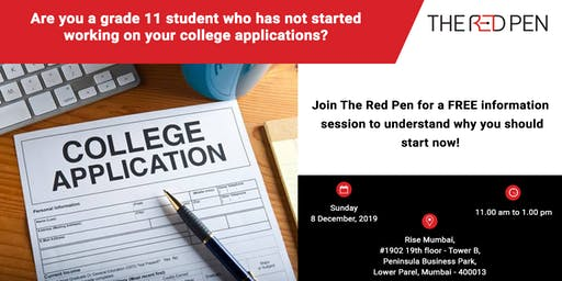 Application Info-session for Grade 11 students!
