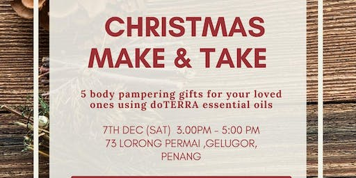 Christmas Make & Take with doTERRA