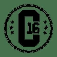 Centre 16 logo