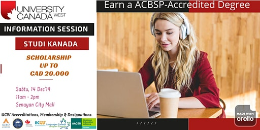 Info Session Kuliah di Kanada Bersama  University of  Canada West