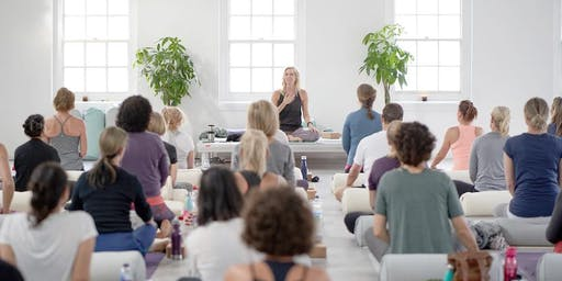 """""""Move from love"""": Yoga day in support of 'Because We Carry'"""