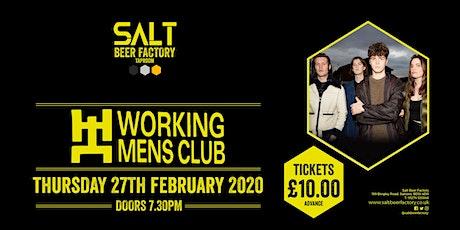 Working Men's Club tickets