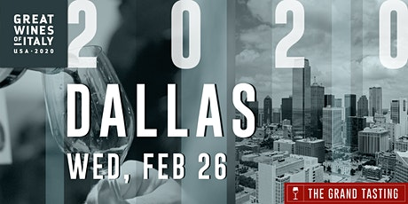 Great Wines of Italy 2020: Dallas Grand Tasting tickets