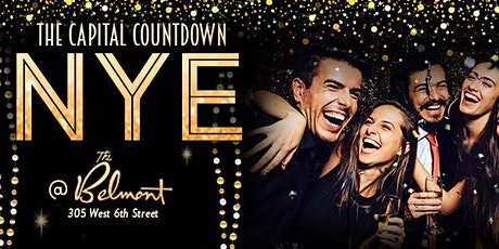 The Capital Countdown at The Belmont - New Years Eve Party 2020 tickets