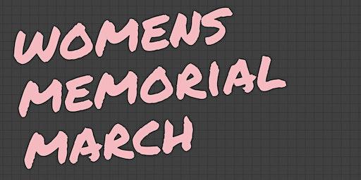 Womens Memorial March