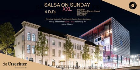 Salsa on Sunday XXL - 29 december 2019 tickets