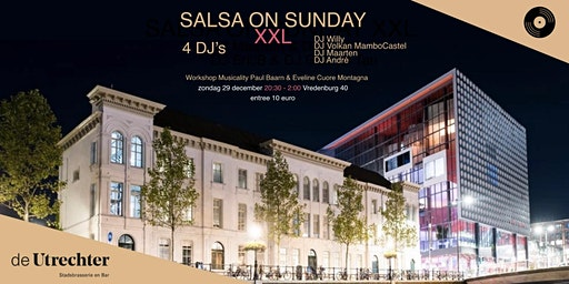 Salsa on Sunday XXL - 29 december 2019