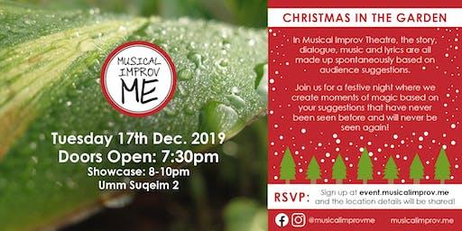 Musical Improv ME: Christmas in the Garden