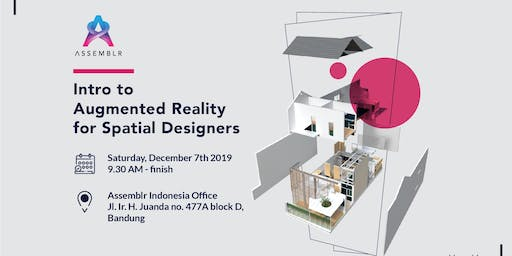 Intro to Augmented Reality for Spatial Designers