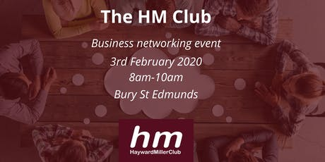 Hayward Miller Club Business Networking Event tickets