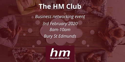 The HM Club Business Networking Event