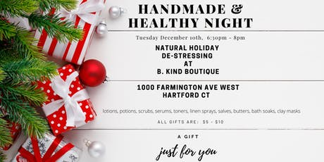 Handmade and Healthy Night Out tickets