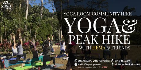 Yoga Room Community Hike - Peak Hike & Yoga with Hema and friends tickets