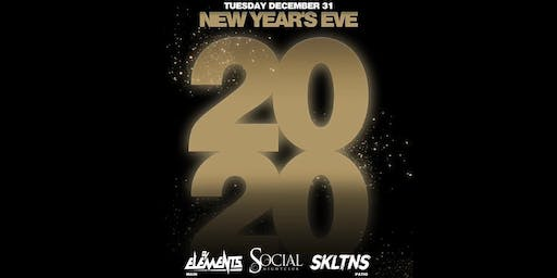 New Years Eve 2020 at Social Nightclub #NYE2020