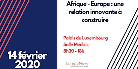 Afrique - Europe : une relation innovante à construire billets