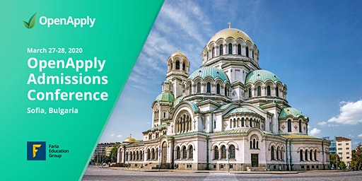 OpenApply Admissions Conference - Sofia