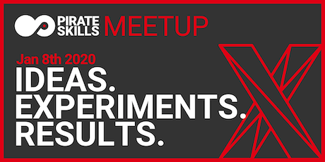Ideas. Experiments. Results. | Meetup Tickets