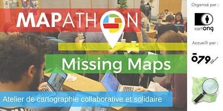 Mapathon Missing Maps à Chambéry @ o79 tickets