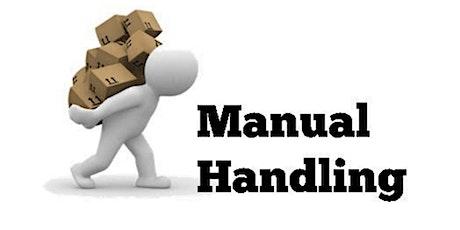 Manual Handling tickets