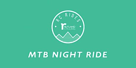 Night MTB Rides - Pitsford  tickets