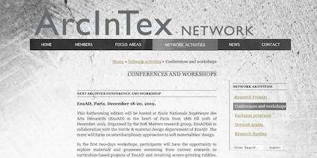 Rencontre DTM/ spéciale doctorants ArcInTex billets