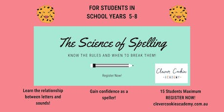 The Science of Spelling tickets