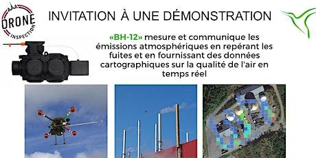 Démonstration du «BH-12»  Aeromon détecteur des émissions atmosphériques billets