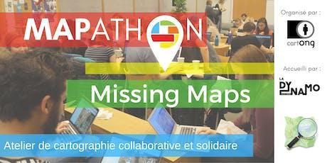 Mapathon Missing Maps à Chambéry @ La Dynamo billets