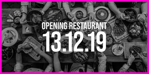 Opening Restaurant Ingenhousz Breda | First Day