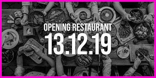 Opening Restaurant Ingenhousz Breda | First Day