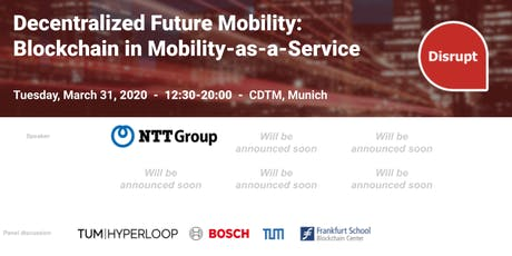 Decentralized Future Mobility - Blockchain in Mobility as a Service tickets