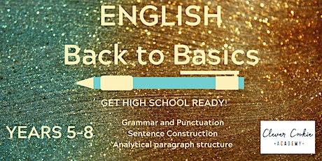 English Back to Basics tickets