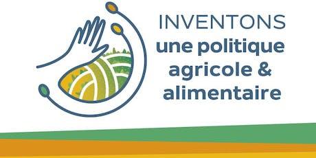Assises de la PAC  -  Inventons une politique agricole et alimentaire ! tickets