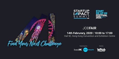 Hong Kong Tech & Startups Job Fair #13 tickets