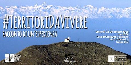 #TerritoriDaVivere: racconto di un'esperienza  biglietti