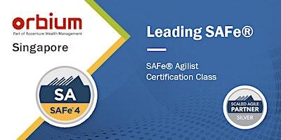 Leading SAFe® (Scaled Agile Framework) - SAFe® Agilist, Singapore