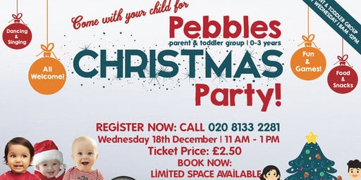 Pebbles Parent & Toddler Group - Christmas Party!