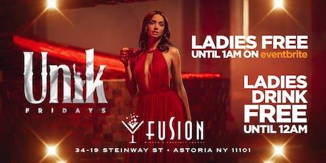 Unik Fridays at Fusion Lounge  tickets