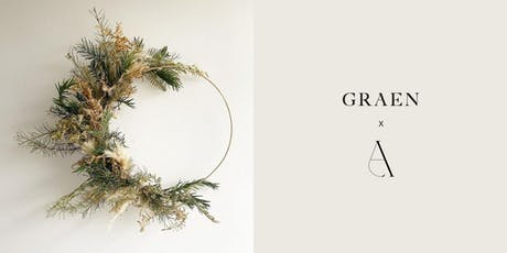 Dried Botanical Wreath Workshop with Graen Studios and Aiteall Flowers tickets