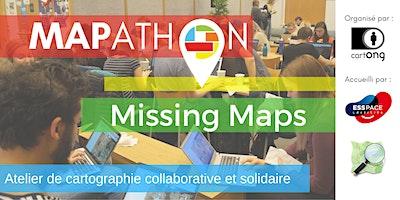Mapathon Missing Maps à Paris @LESSPace