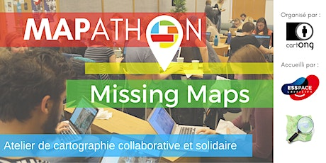 Mapathon Missing Maps à Paris @L'ESS'Pace billets