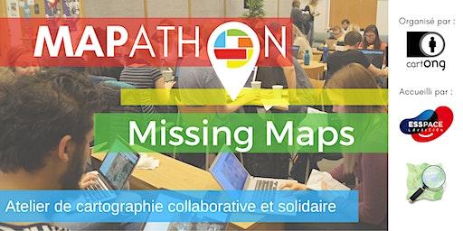 Mapathon Missing Maps à Paris @L'ESS'Pace