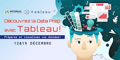 Découvrez la Data Prep avec Tableau Software (Atelier) tickets
