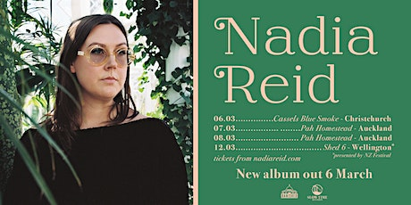 Nadia Reid - Out of My Province - Album Release - Christchurch tickets