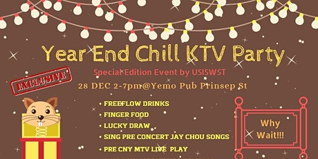 Year End Chill KTV Event tickets