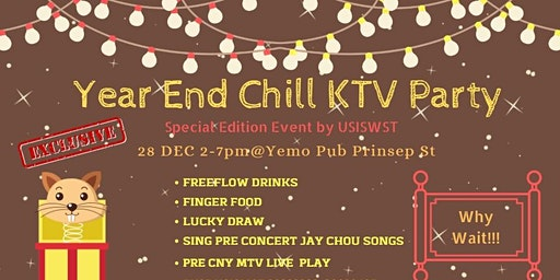 Year End Chill KTV Event