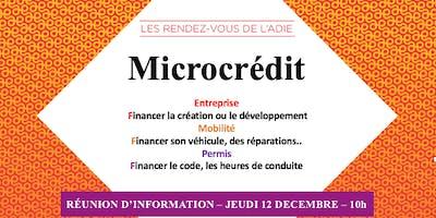 Matinale sur le microcrédit
