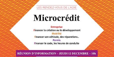 Matinale sur le microcrédit billets